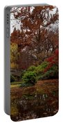 Fall Colors In The Garden Portable Battery Charger