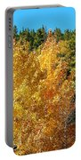 Fall Colors On The Colorado Aspen Trees Portable Battery Charger