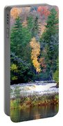 Fall Colors On The  Tahquamenon River   Portable Battery Charger