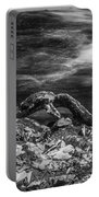 Fall Colors Stream Great Smoky Mountains Painted Bw Portable Battery Charger