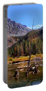 Fall Colours Reflection Portable Battery Charger