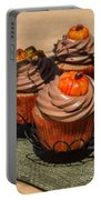 Fall Cupcakes Portable Battery Charger