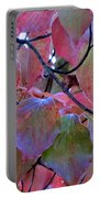 Fall Dogwood Leaf Colors 2 Portable Battery Charger