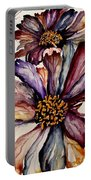 Fall Flower Colors  Portable Battery Charger