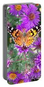 Fall Flutterby Portable Battery Charger