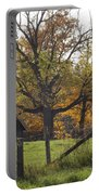 Fall Foilage In Country Portable Battery Charger