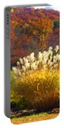 Fall Foilage In The Mountains Portable Battery Charger
