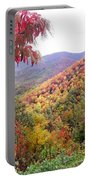 Fall Folage Along The Blueridge Portable Battery Charger