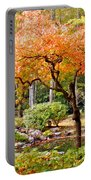 Fall Folage And Pond 2 Portable Battery Charger
