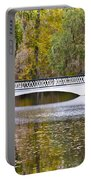 Fall Footbridge Portable Battery Charger