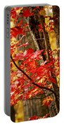 Fall Forest Detail Portable Battery Charger