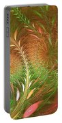 Fall Fractal Fields Portable Battery Charger