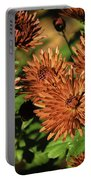 Fall Garden Flowers Portable Battery Charger