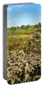 Fall Goldenrod Field Portable Battery Charger