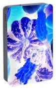 Fall Gourds Blues Portable Battery Charger