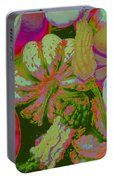 Fall Gourds Pinked Portable Battery Charger