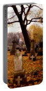 Fall Graveyard  Portable Battery Charger