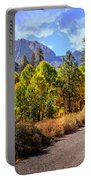 Fall Hiking In The High Sierras Portable Battery Charger