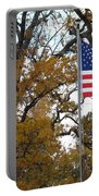 Fall In America Portable Battery Charger