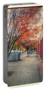 Fall In Downtown Vancouver Washington Portable Battery Charger
