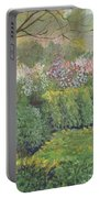 Fall In Monet's Garden Portable Battery Charger