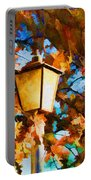 Fall In The Air Portable Battery Charger