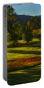 Fall In The Fields Portable Battery Charger