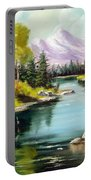 Fall In The Rockies Portable Battery Charger