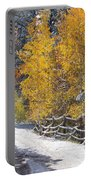 Fall Into Beartrap Meadow - Casper Mountain - Casper Wyoming Portable Battery Charger