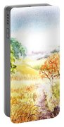 Fall Landscape Briones Park California Portable Battery Charger