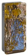 Fall Leaves On Open Windows Jerome Portable Battery Charger
