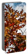 Fall Maple Leaves Portable Battery Charger