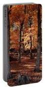 Fall On A Stump Portable Battery Charger