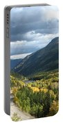 Fall On Guanella Pass Portable Battery Charger