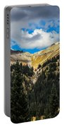 Fall On Red Mountain Pass Portable Battery Charger