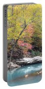 Fall On The River Portable Battery Charger