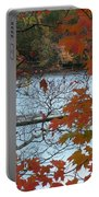 Fall On The Shetucket Portable Battery Charger