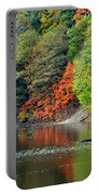 Fall Painting Portable Battery Charger by Frozen in Time Fine Art Photography