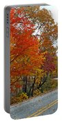 Fall Peak Along Slick Fisher Road Portable Battery Charger