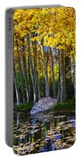 Fall Pond In Mammoth Portable Battery Charger