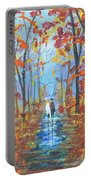 Fall Promenade  Portable Battery Charger