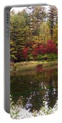 Fall Reflection And Colors Portable Battery Charger
