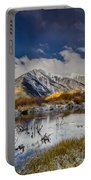 Fall Reflection Pond Portable Battery Charger