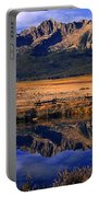 Fall Reflections Sawtooth Mountains Idaho Portable Battery Charger