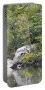 Fall Reflections Wc Portable Battery Charger
