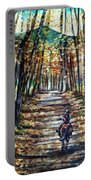 Fall Ride Portable Battery Charger
