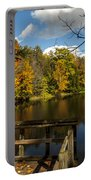 Fall Scene Portable Battery Charger