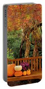 Fall Serenity Portable Battery Charger