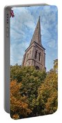 Fall Steeple Portable Battery Charger