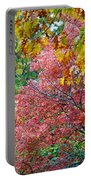 Fall Tree Leaves Portable Battery Charger